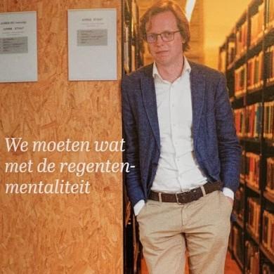 Geerten Boogaard hoogleraar Leiden Thorbecke leerstoel