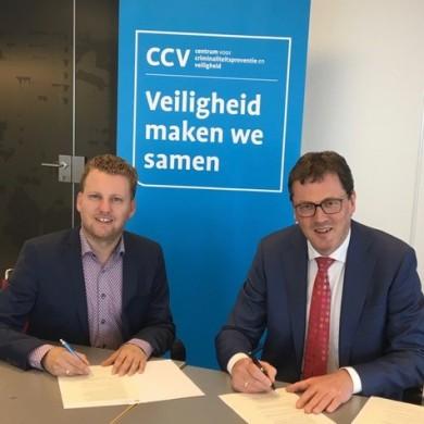 Kennispartnerovereenkomst Het CCV en Nederlandse Vereniging voor Raadsleden
